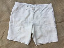 NEW WITH TAG Tommy Bahama Women's Linen Beige shorts size 12