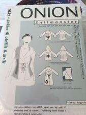 Sealed Sewing Pattern From Denmark By Onion Hooded Jacket