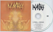 PEACHES I Feel Cream Remixes UK 6-track promo test CD Proxy Cory Enemy Blogula