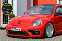 Spoilerschwert Frontspoiler aus ABS für VW Beetle 5C 16 R-Line Carbon Optik