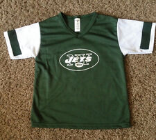 a5a5f5d2112f NEW YORK JETS NFL FOOTBALL JERSEY BY FRANKLIN SIZE YOUTH MEDIUM