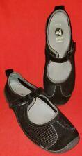 Merrell Relay Tour Mesh Mary Jane Women's Flats 9M, 40 EU, Black, Flats=Comfort!