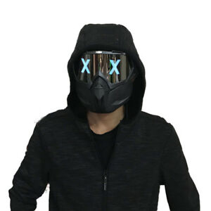 LED Light Mask DIY refit Masks Cosplay Party Dj Prop NEW
