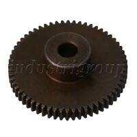 0.5 Module 60T 6mm Shaft Hole Wear-resistant 45# Steel Spur Gear Small DIY Parts