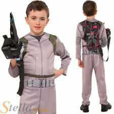 Boys Ghostbusters Costume Halloween Fancy Dress Child Outfit + Proton Pack