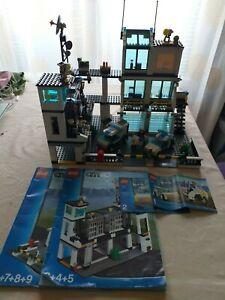 Lego City 7744 Poste Police Commissariat sans boîte, mais avec notice