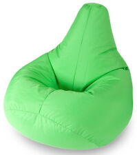 BEANBAGS Garden Furniture Lime Water Resistant Beanbag Lounger for