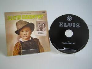 CD Elvis Presley - Elvis Country (2012 Sony Music EU)