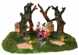 Lemax Spooky Town Village Are Those Trees Moving? Animated Accessory 24462