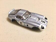 AFX MEGA-G Painted Body Ford Shelby Daytona Coupe #6 slot car NEW