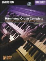 Hammond Organ Complete Sheet Music Book & CD Pedal Manual Learn To Play Method