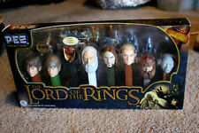 The Lord Of The Rings Pez Dispenser Collectors Set LIMITED EDITION Eye of Sauron