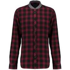 Plaids & Checks Slim Fit Button-Front Casual Shirts for Men