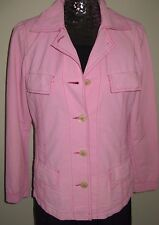 Guy Rover Light Weight Pink Cotton Jacket-Size 42-Italy