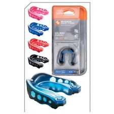 Shock Doctor GEL Max Strapless Protective Mouthguard Gumshield Sdgm6150a Adult Royal Blue