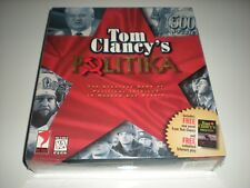 Tom Clancy's Politika game for Windows 95 & Mac OS 7.5. Sealed with bonus novel.