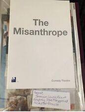 Misanthrope Signed Programne Damien Lewis Knightley Fitzgerald