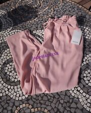Dusty Pink Jogger Waist Zara Trousers L Large 12 New