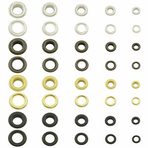 Eyelets stainless rustproof grommets with washers antirust nickelfree brass