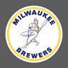 Milwaukee Brewers Wisconsin Vintage Logo 1970-1977 Sticker Vinyl Vehicle Decal