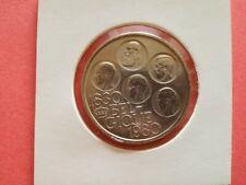 Zilver 500 Frank 150 jaar onafhankelijkheid 5 Koningen Franse versie prachtig