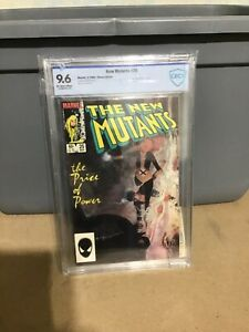 New Mutants 25 CBCS 9.6 1st appearance of Legion SienKiewicz Cover with Card!