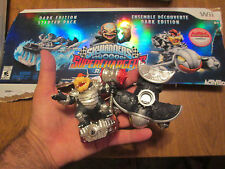 SKYLANDERS SUPERCHARGERS Hammer Slam Bowser + Clown Cruiser Amiibo DARK EDITION