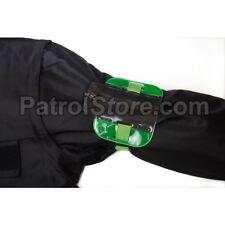 ID/SIA License Badge Holder - Arm Band High Viz Green