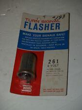 Vintage NOS 6 Volt Signal Flasher-261-A229S-Ford Mercury 1953-1955-Hudson