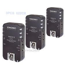 Yongnuo  3PCS YN-622C II Transceivers HSS Wireless TTL Flash Trigger for Canon