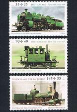2946 - 2948 ** BRD 2012,  Historische Dampflokomotiven