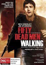 Fifty Dead Men Walking (DVD, 2010)