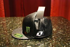 One Industries Monster Energy Wells Flex Fit Hat Black NEW size LARGE