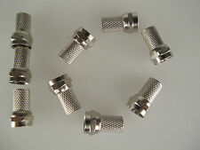 F Plug Connector Sky Satellite Ten 10 Pack fitting demo