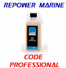 Marine / Yacht Teak Deck Renovator. Code Professional Products, Boat