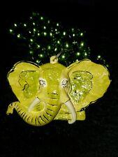 2002 Krewe of Bacchus Elephant Float Bead Mardi Gras Journeys Through Africa