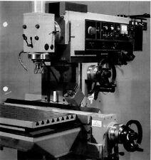 Fräsmaschine Ruhla VRB 2242/43 Duplex 3 WMW Heckert Bedienungsanleitung