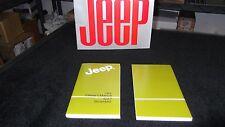 1984 Jeep CJ owner's manual