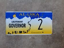 "ALASKA - ""LIEUTENANT GOVERNOR"" - LICENSE PLATE"