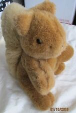 Vintage IAGTM (It's All Greek to Me) Plush Squirrel - Brown with Blond Tail