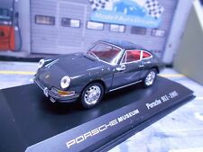 PORSCHE 911 Coupe 1965 grau grey Museum Edition Welly 1:43