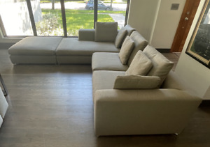 MINOTTI MATISSE 3pc Sectional by Rodolfo Dordoni - Made in Italy