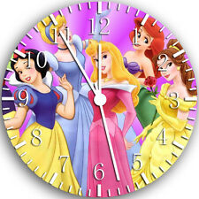 "Disney Princess wall Clock 10"" will be nice Gift and Room wall Decor W107"