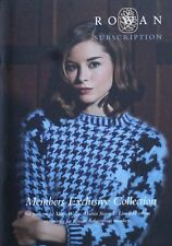 Rowan KNITTING PATTERN BOOK Rowan Members Collection Ladies KNITTING PATTERNS