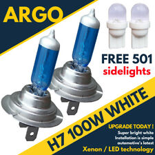 H7 100W XENON WHITE 499 HEADLIGHT BULBS 12V ALFA ROMEO SPIDER