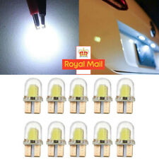 10Pcs T10 501 W5W CAR SIDE LIGHT BULBS CANBUS ERROR FREE WEDGE SMD LED XENON HID