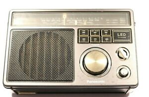Vintage Panasonic FM MW LW  3 Band Receiver Radio RF-1403L -- With LED Tuning