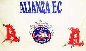BANDERA DE ALIANZA FC - EL SALVADOR - EL EQUIPO PAQUIDERMO