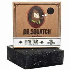 Dr. Squatch PINE TAR Soap Handmade with Pine, Coconut
