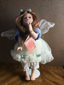 "PORCELAIN COLLECTABLE FAIRY-ANGEL  DOLL Florence Maranuk ""Skye"""